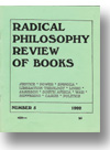 Cover of Radical Philosophy Review of Books