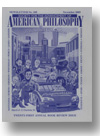 Cover of Newsletter of the Society for the Advancement of American Philosophy