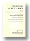 Cover of The Modern Schoolman