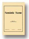 Cover of Semiotic Scene