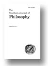 Cover of The Southern Journal of Philosophy