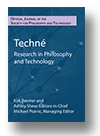 Cover of Techné: Research in Philosophy and Technology