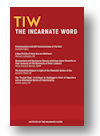 Cover of The Incarnate Word