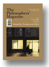 Cover of The Philosophers' Magazine