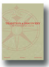 Cover of Tradition and Discovery: The Polanyi Society Periodical
