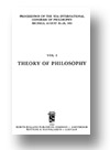 Cover of Proceedings of the XIth International Congress of Philosophy