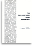 Cover of The Philosopher's Index Thesaurus