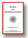 Cover of Ethics and Entrepreneurship