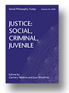 Cover of Justice: Social, Criminal, Juvenile