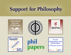 support for philosophy